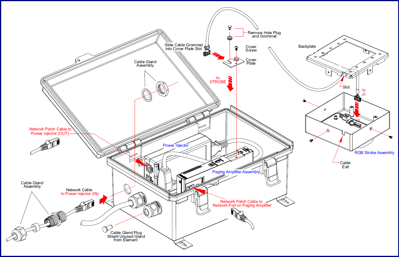 011412 Syn Apps Enabled Loudspeaker Amplifier Ac Powered Cyberdata Antenna Power Injector Schematic High Mode One Speaker