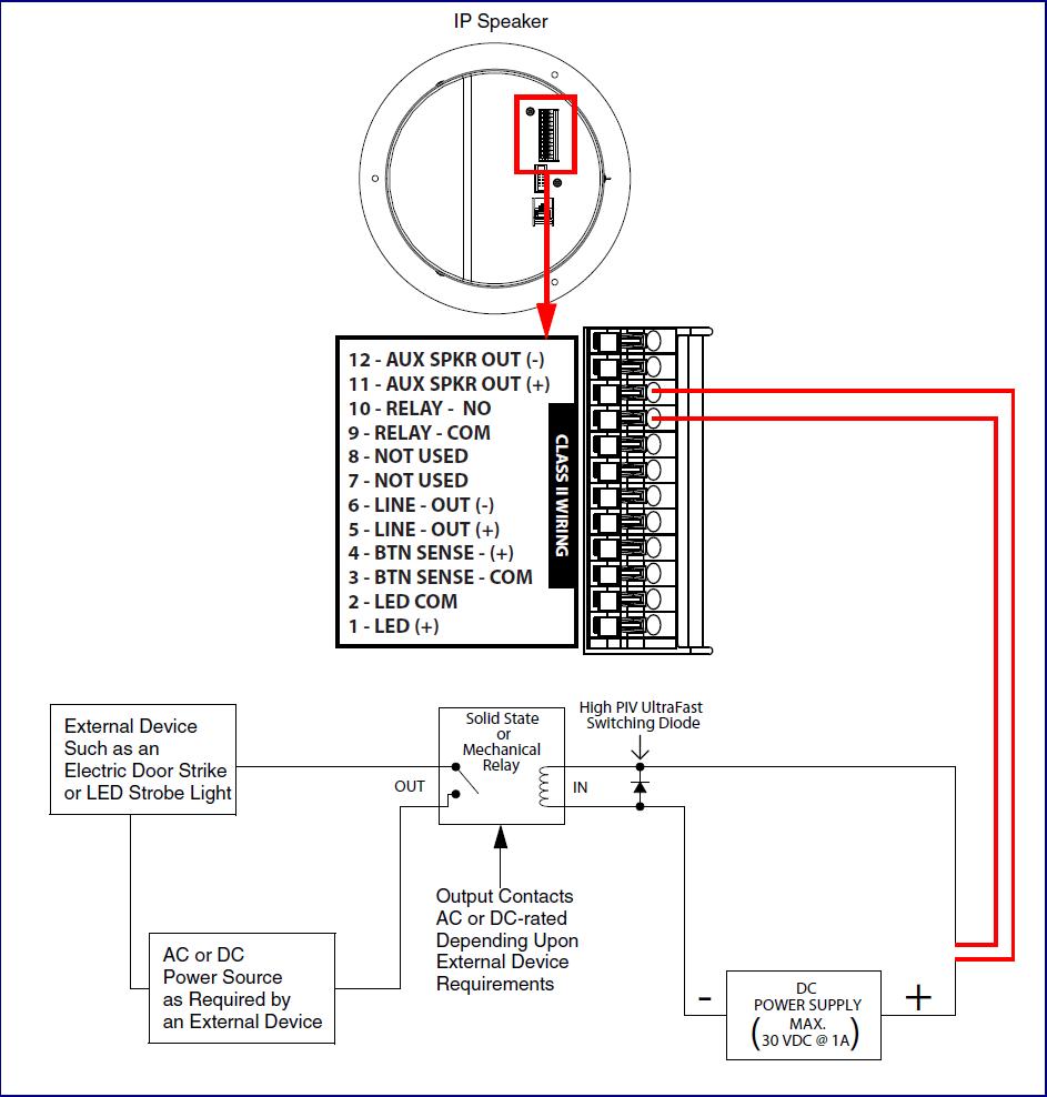 Speaker Strobe Circuit Wiring Diagram. . Wiring Diagram on