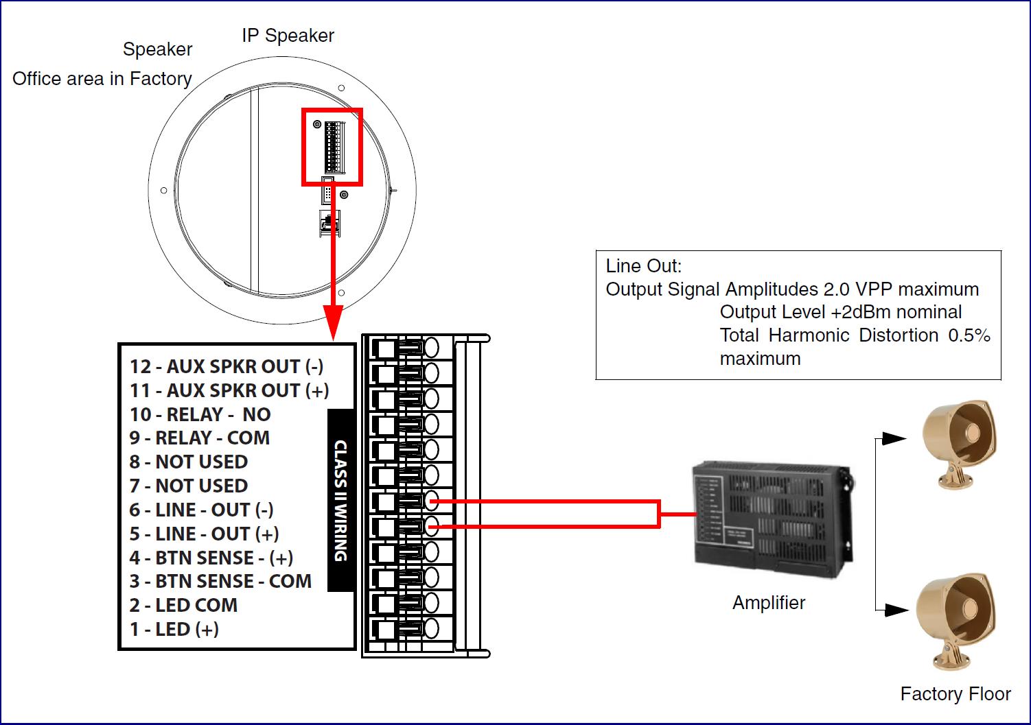 011395 011396 Singlewire Informacast Speaker Cyberdata Corporation Class 2 Audio Wiring Ceiling Mounting